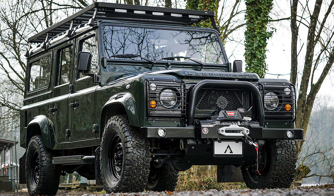 Land Rover Defender 110 Station Wagon by Arkonik | JUNCTURE