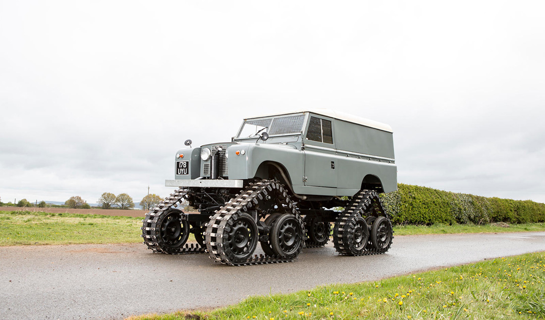 1958 Tracked Cuthbertson Land Rover